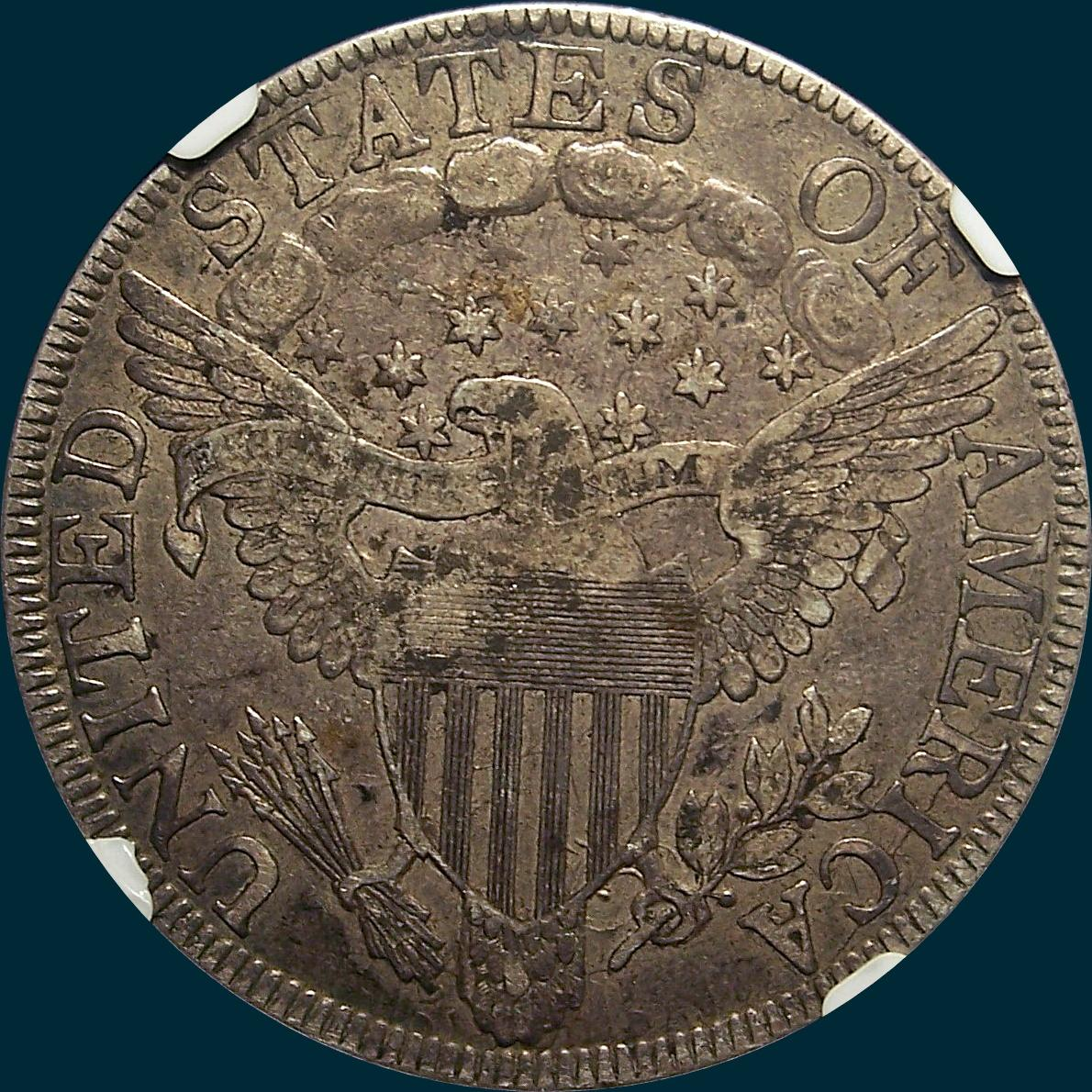 1803, O-102a, High R3, Draped Bust, Half Dollar