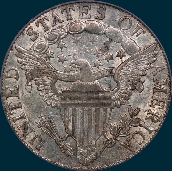 1805, O-104, R5-, Draped Bust, Half Dollar