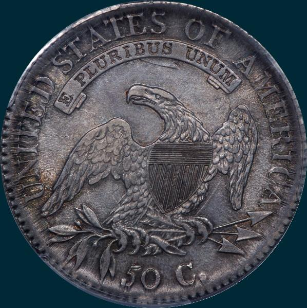 1811, O-113, Small 8, Capped Bust, Half Dollar