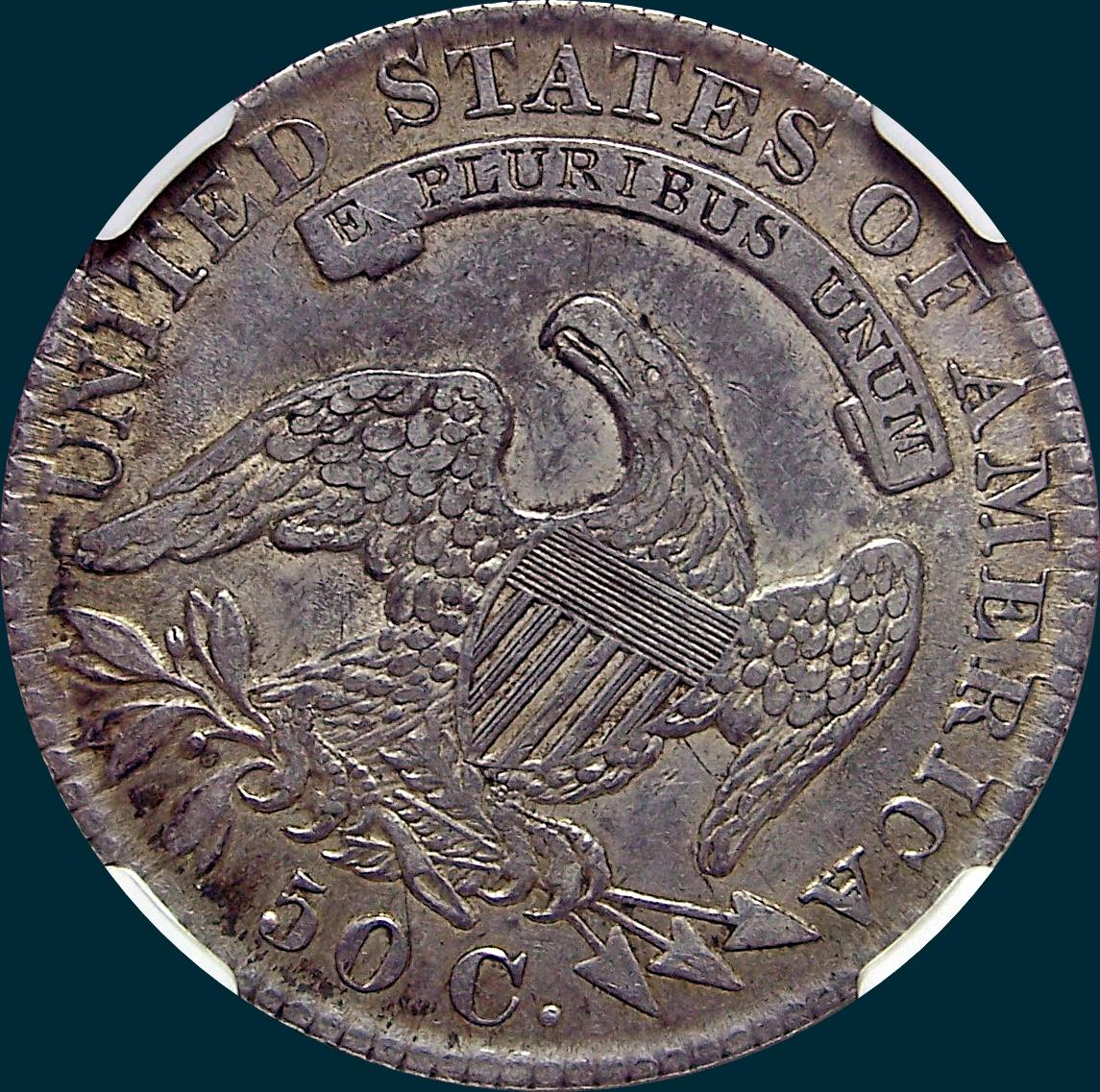 1830 O-103, small 0, capped bust half dollar