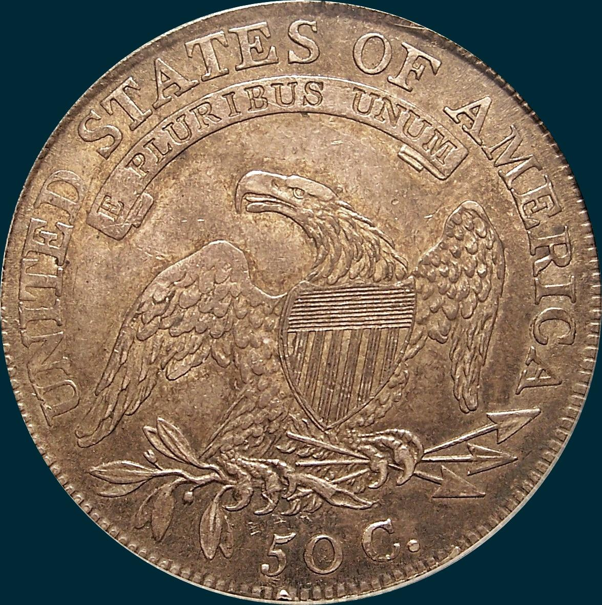 1810, O-107, Capped Bust, Half Dollar
