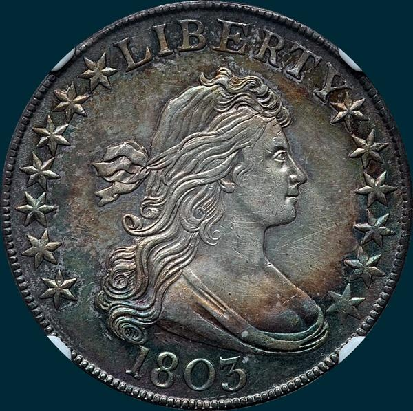 1803, O-101, R3, Draped Bust, Half Dollar