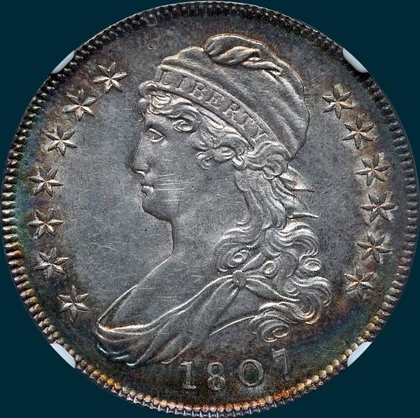 1807, O-113, Capped Bust, Half dollar