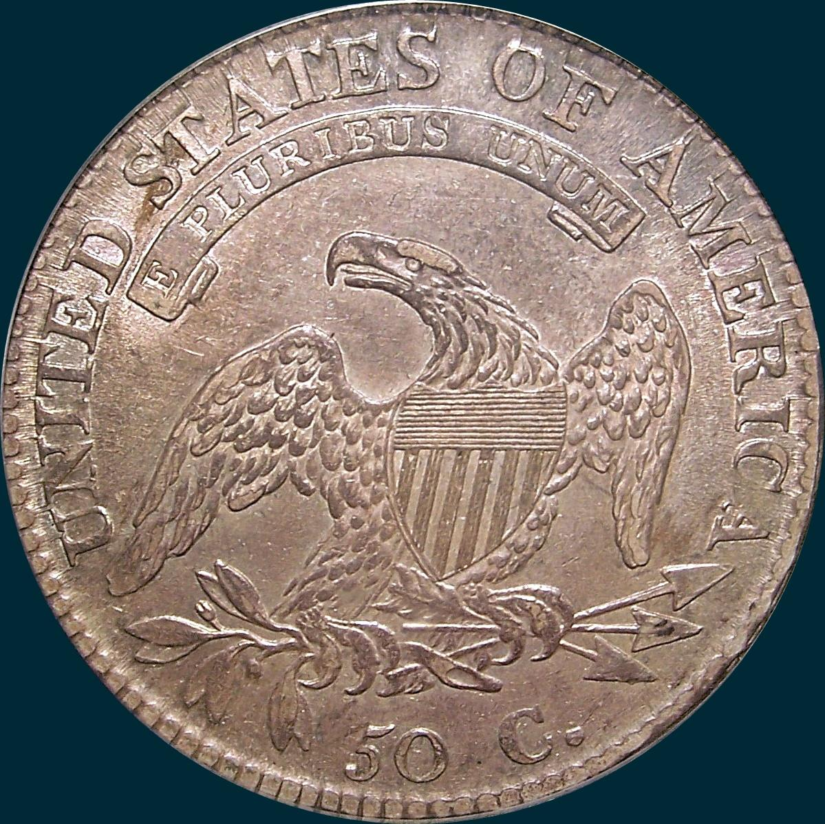1812, O-102, 2 over 1, Overdate, 12/11, 2/1, 12 over 11, Small 8, Capped Bust Half Dollar