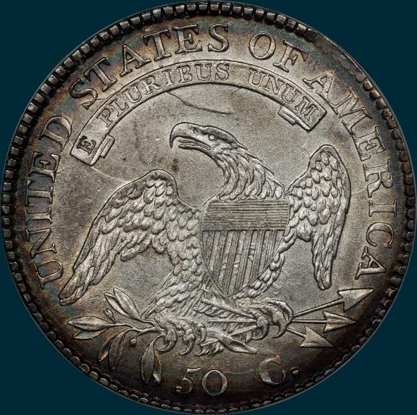 1814, O-106, capped bust, half dollar