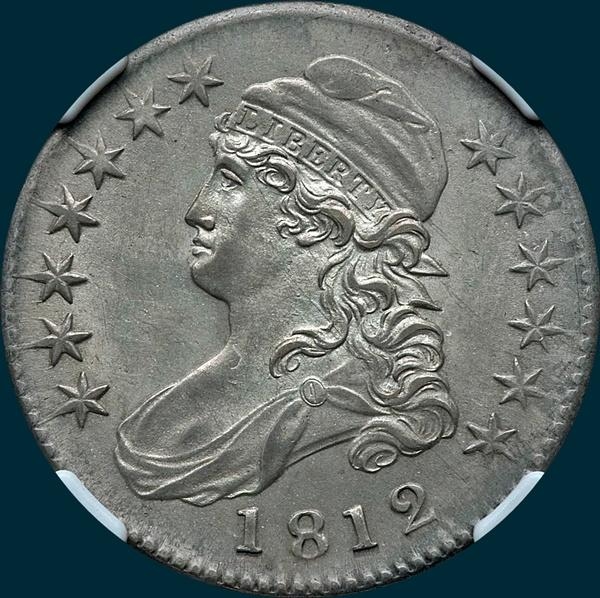 1812, O-108, Capped Bust, Half Dollar