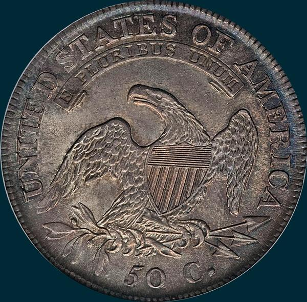 1811, O-110a, Small 8, Capped Bust, Half Dollar