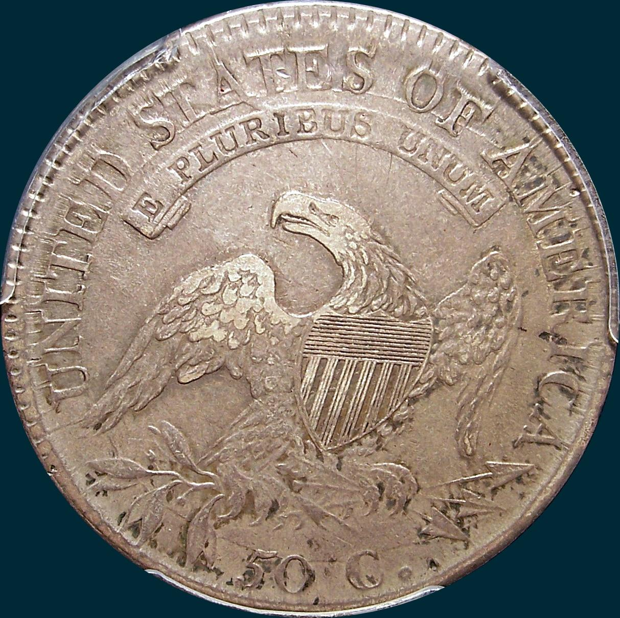 1811, O-107, Small 8, Capped Bust, Half Dollar