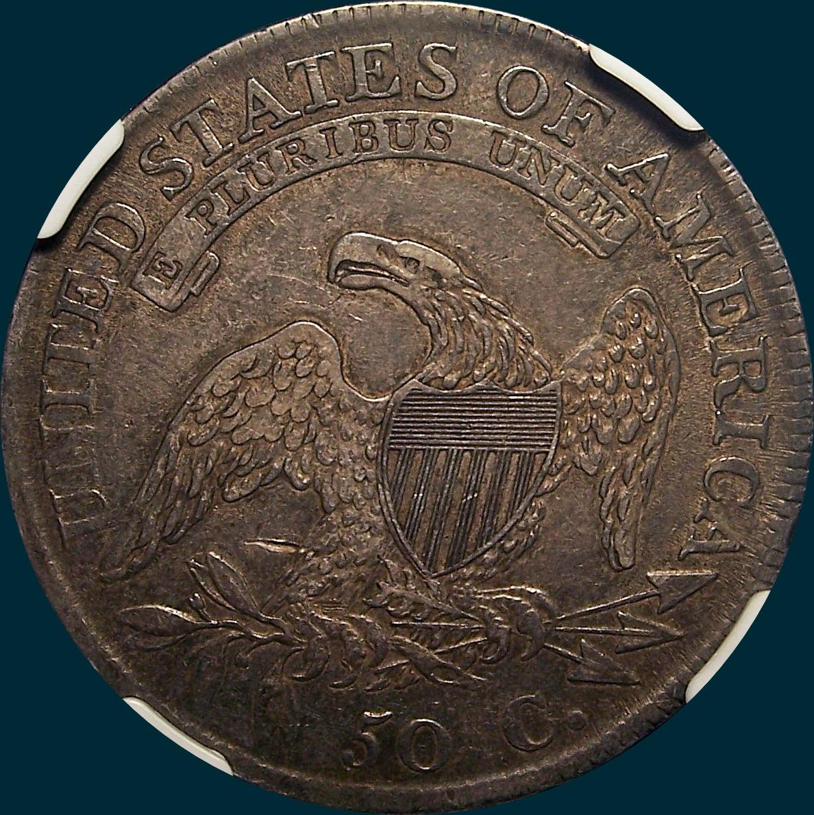 1811/10 O-101, Capped Bust, Half dollar