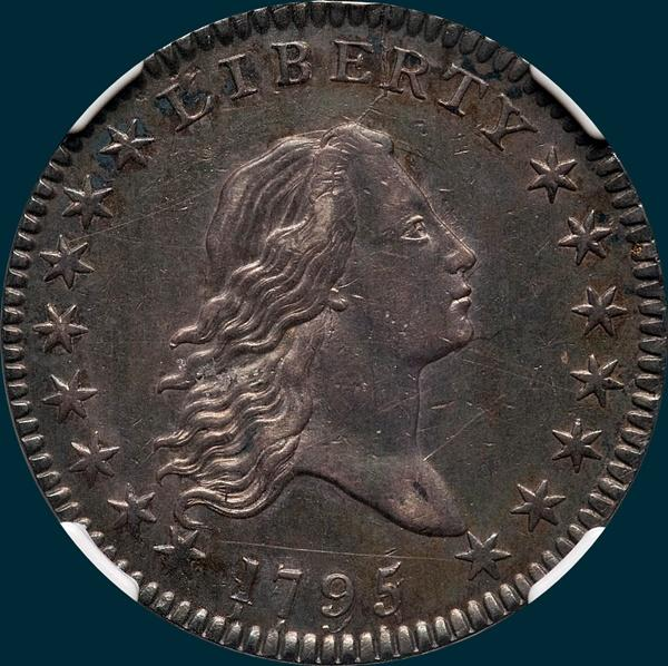 1795, O-112, Flowing Hair, Half Dollar