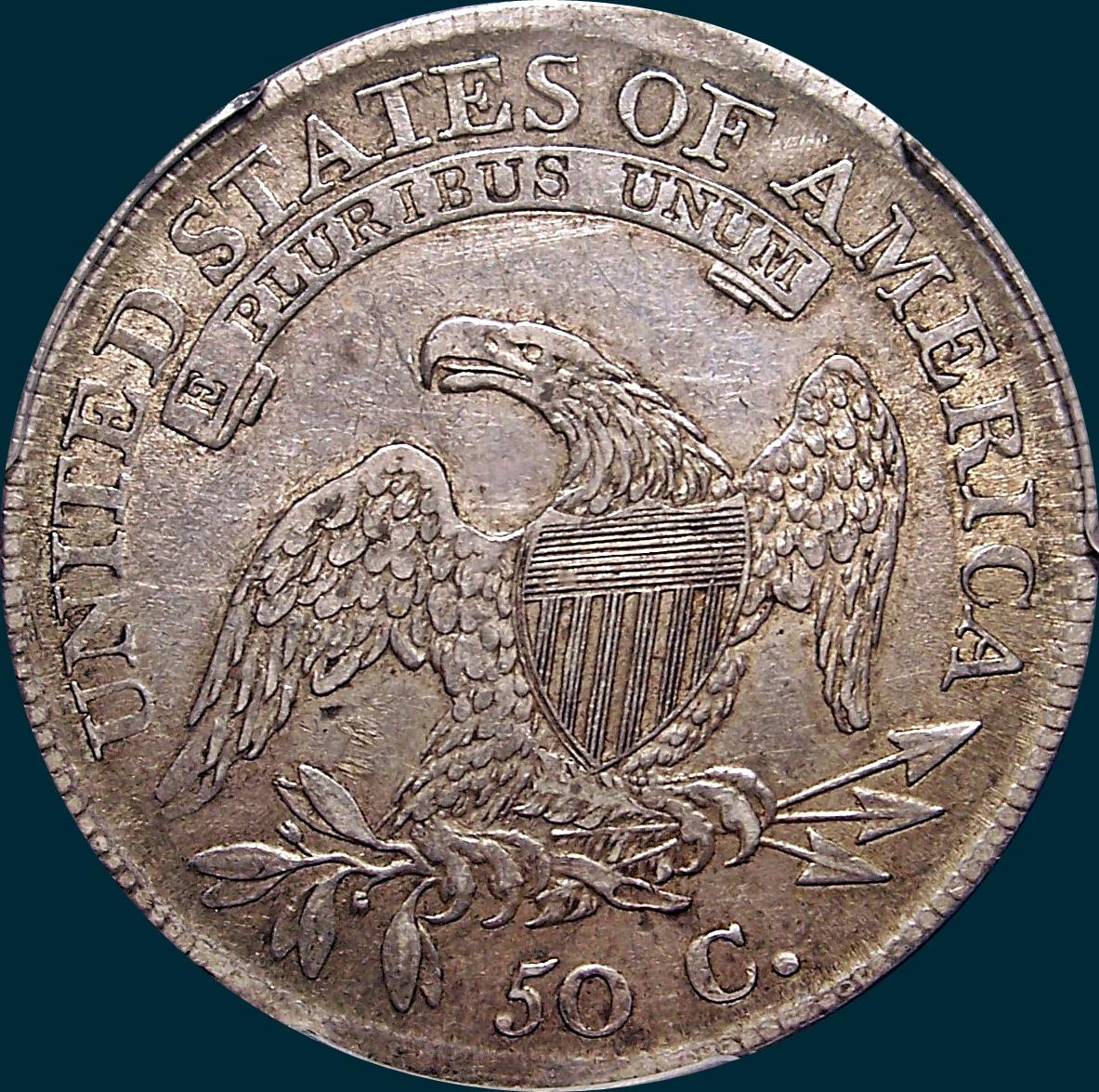 1810, O-105, Capped Bust ,Half Dollar, Guido
