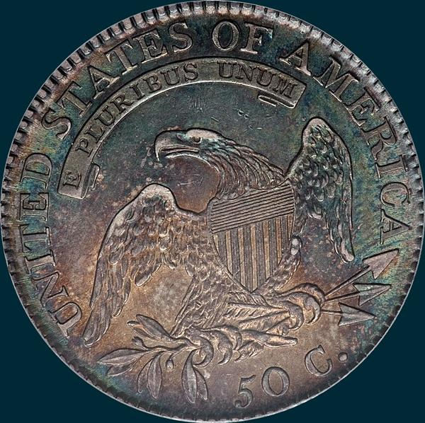 1817, O-109, Capped Bust, Half Dollar