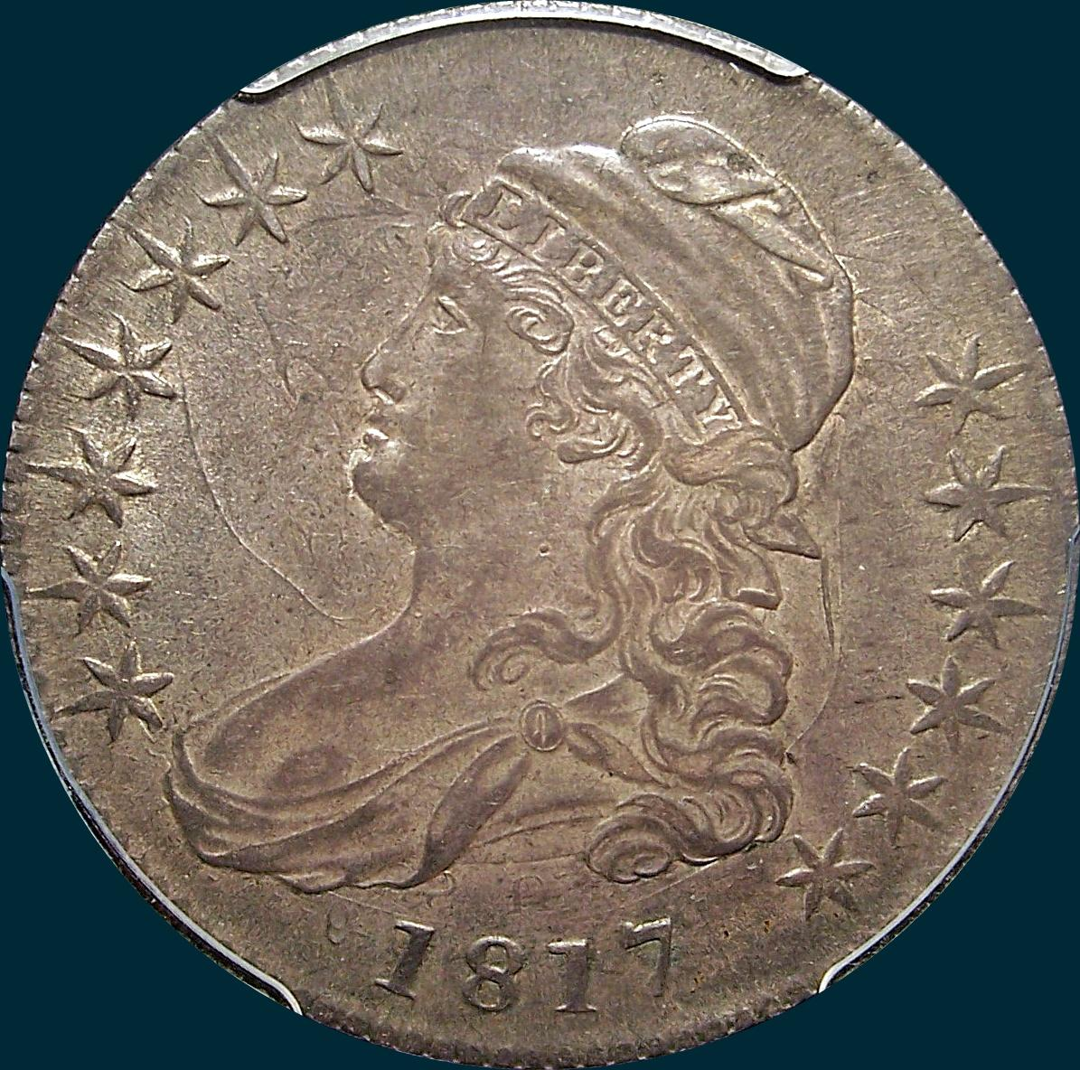 1811 o-111, capped bust half dollar