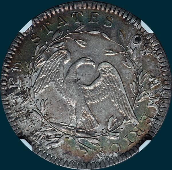 1794, O-106, Flowing Hair, Half Dollar