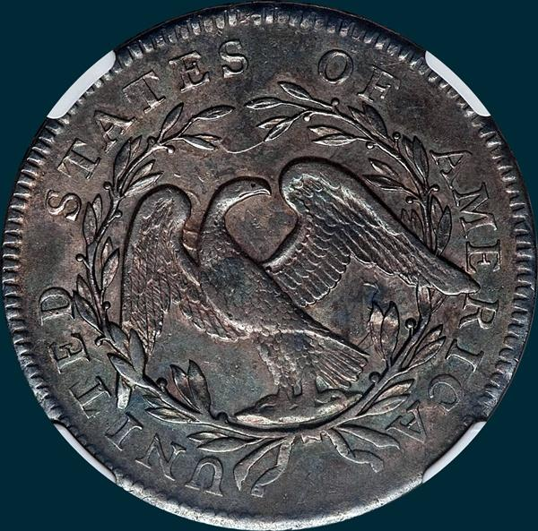 1795, O-110, Flowing Hair, Half Dollar