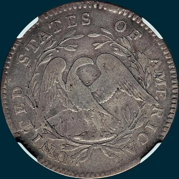 1795, O-107,  Flowing Hair, Half Dollar