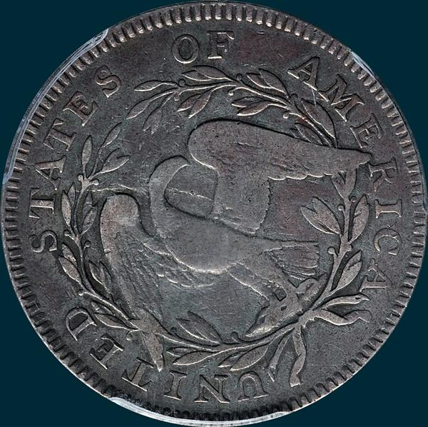 1795, O-106, Flowing Hair, Half Dollar
