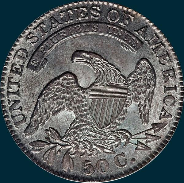 1830 O-109, small 0,capped bust half dollar