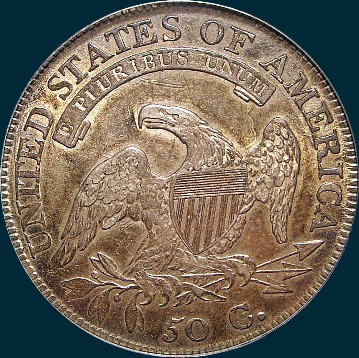 1811 o-111, small 8, capped bust half dollar