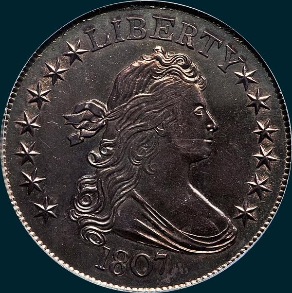 1807, O-109, Draped Bust, Half Dollar
