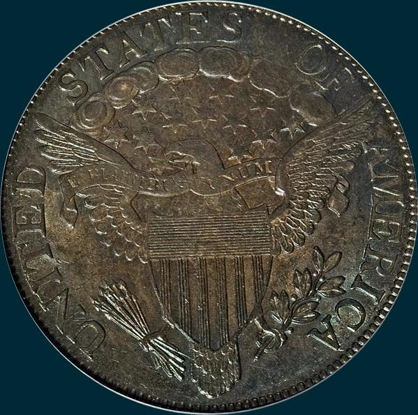 1806/5, O-102, Draped Bust, Half Dollar