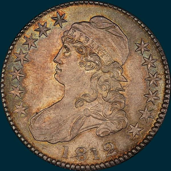 1812, O-110, Capped Bust, Half Dollar