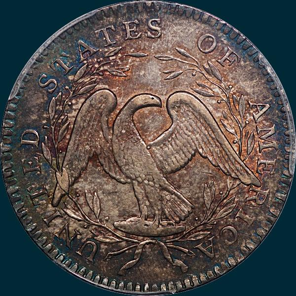 1795, O-102, Floing Hair, Half Dollar