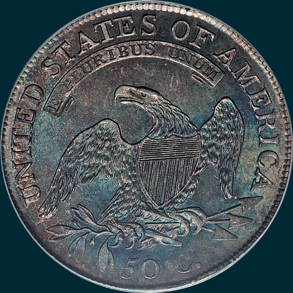 1809 O-107 capped bust half dollar