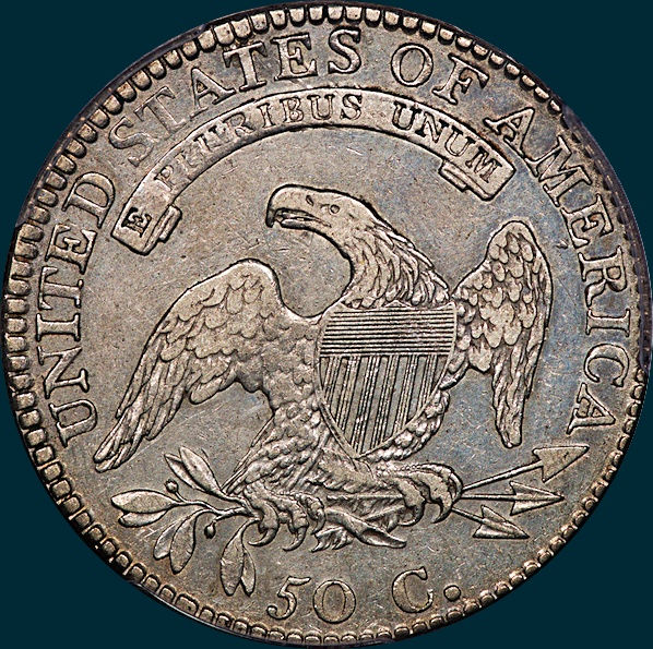 1814, O-101, 4 over 3, Capped Bust, Half Dollar