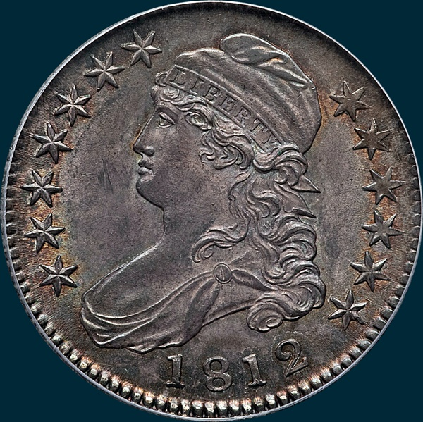 1812, O-107, Capped Bust, Half Dollar